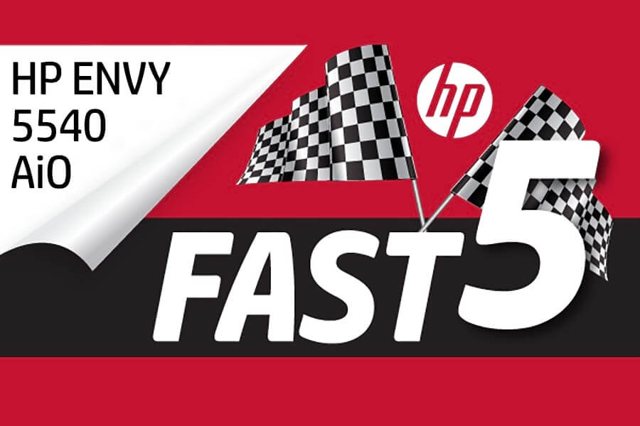 HP FAST Five— Photo Printing with HP ENVY Printers