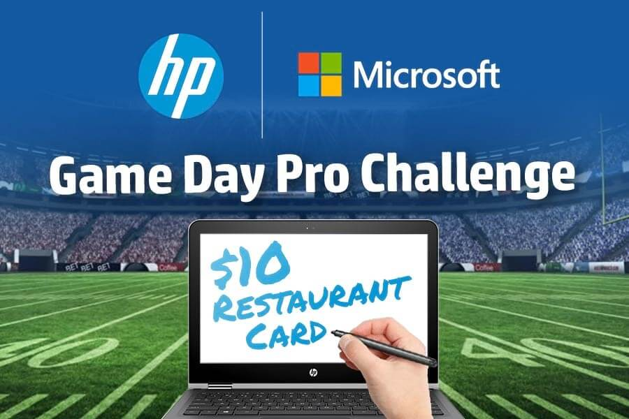 HP + Microsoft Game Day Pro Challenge