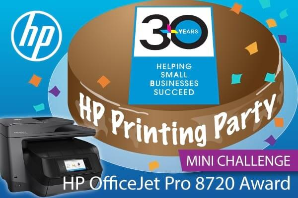 HP Printing Party Mini Challenge