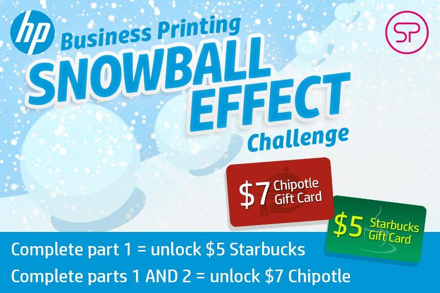 HP Business Printing Snowball Effect Challenge