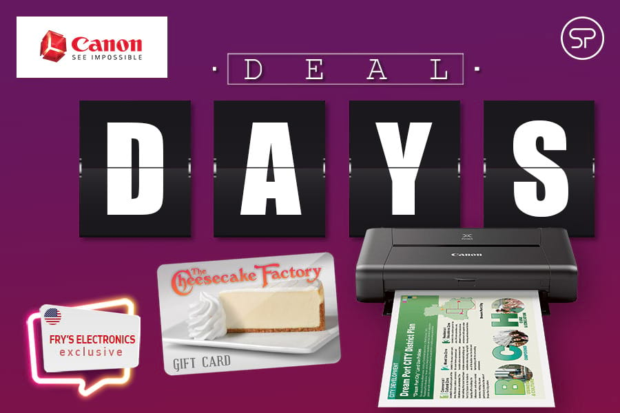 June Canon Deal Days: Fry's Electronics