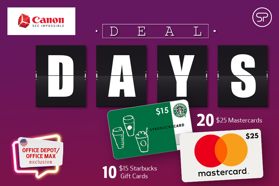 July Canon Deal Days: Office Depot/Office Max