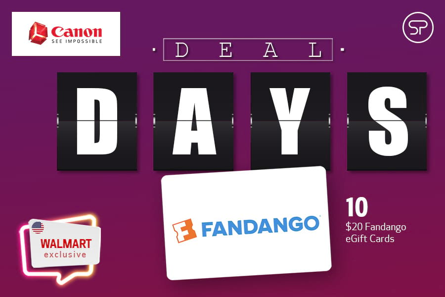 September Canon Deal Days - Walmart