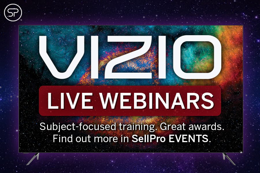 VIZIO Live Webinars: October