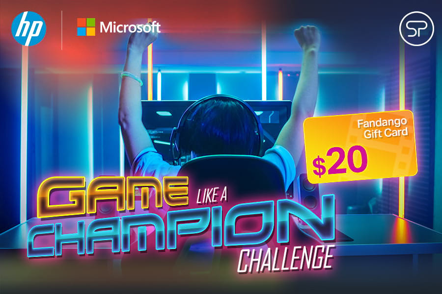 HP + Microsoft Game Like a Champion Challenge