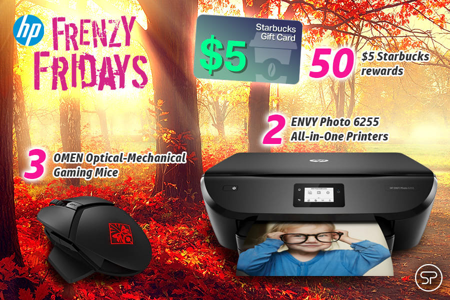 September HP Frenzy Fridays