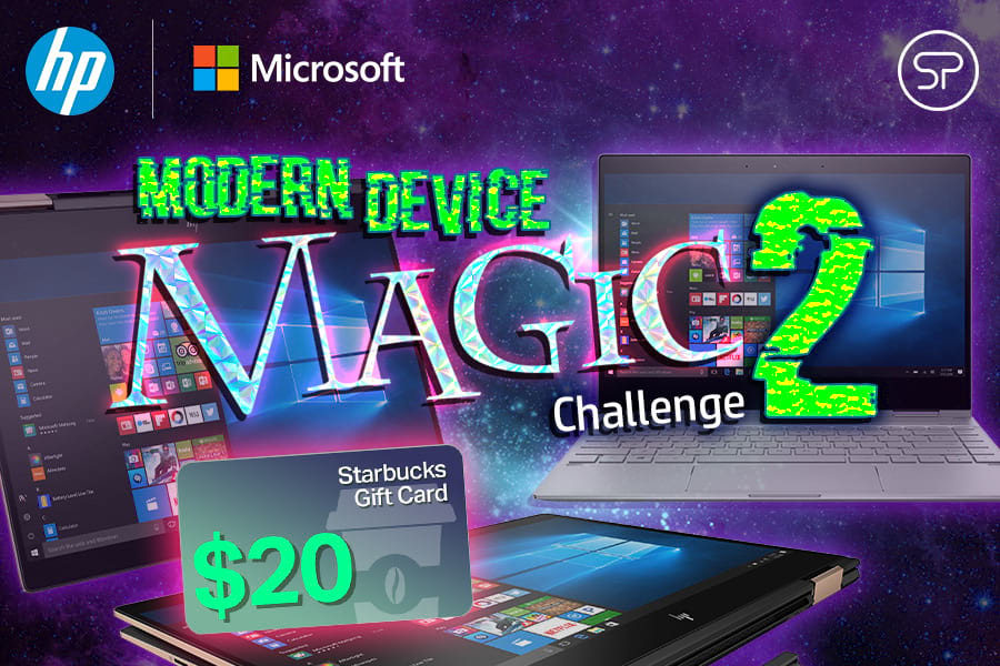 HP + Microsoft Modern Device Magic 2 Challenge