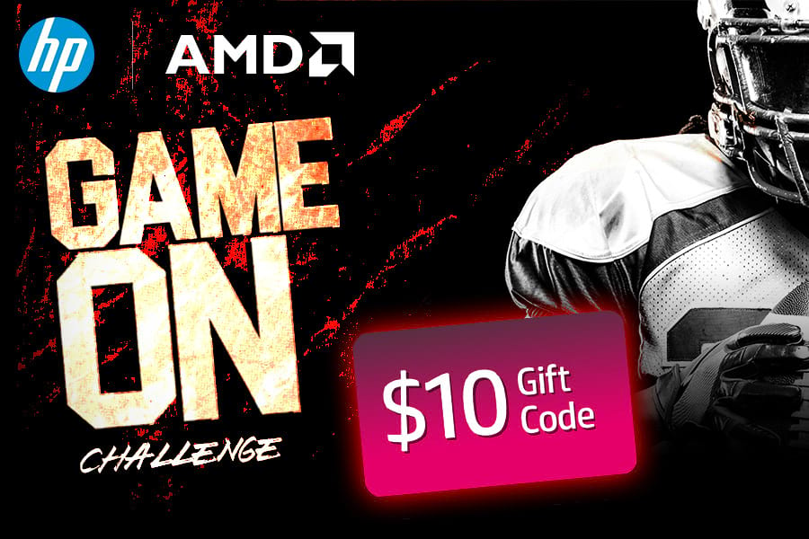 HP + AMD Game On Challenge