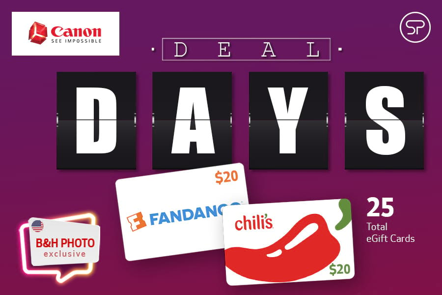 October Canon Deal Days - B&H