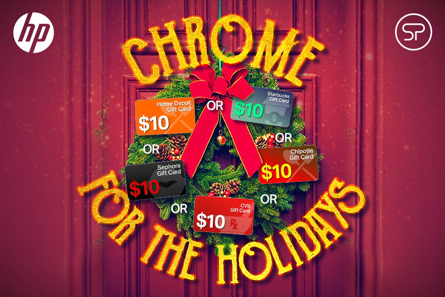 HP Chrome for the Holidays