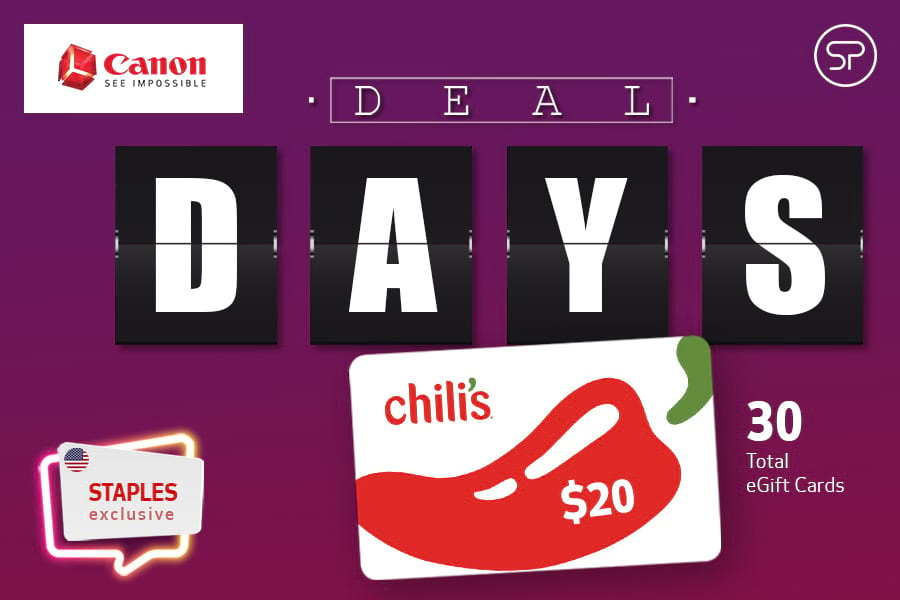 Canon Deal Days - Staples