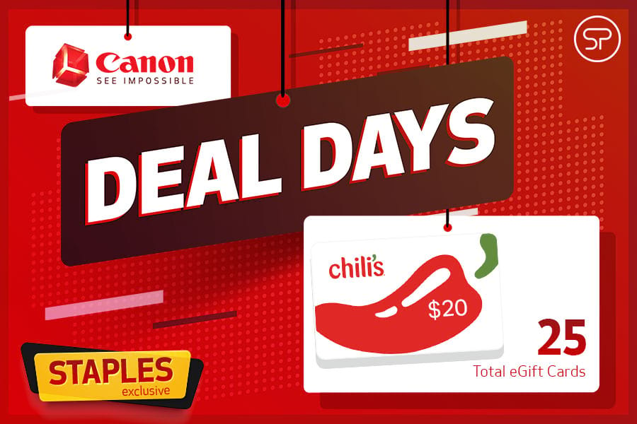 Canon Deal Day – Staples