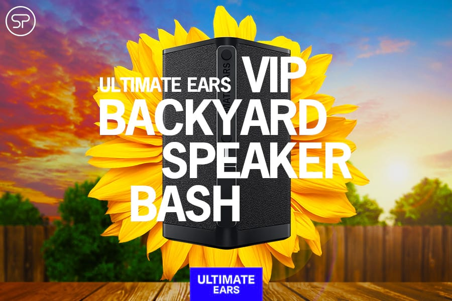 Ultimate Ears VIP Backyard Speaker Bash