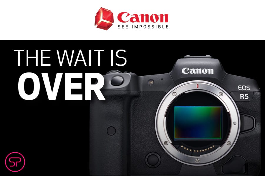 Canon The Wait is Over