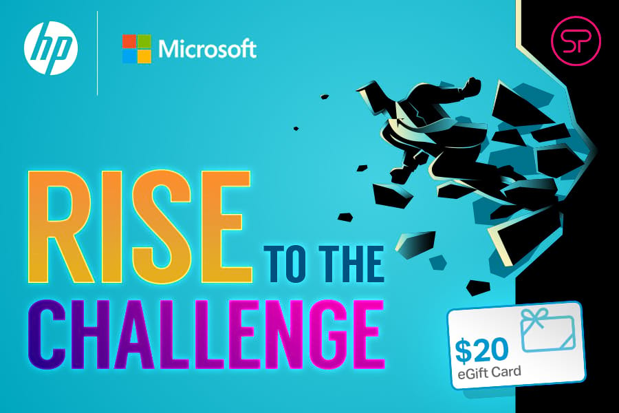 HP Microsoft Rise to the Challenge